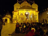 Gangotri Temple at Night