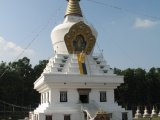 Buddha Stupa in Clement Town