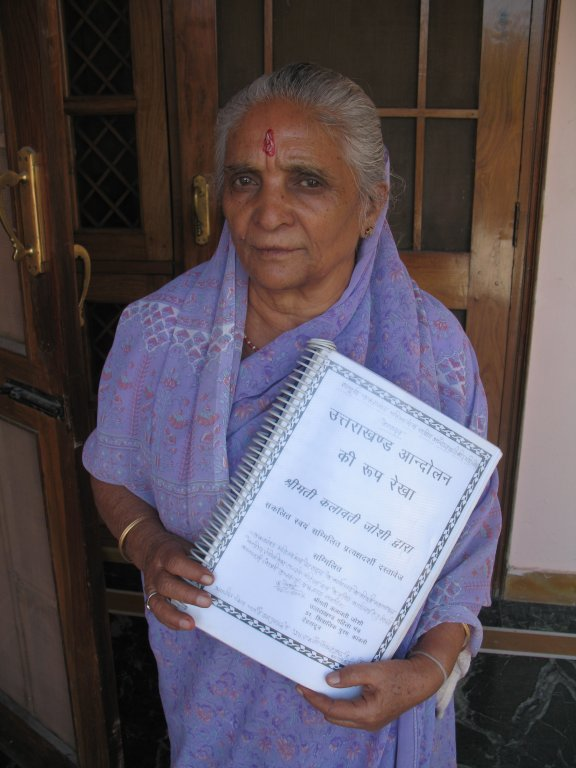 Kalawati Joshi, Lifetime Activist