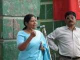 Kamla Pant of the Mahila Manch