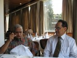 Veteran Journalist Harish Chandola with Chandan Dangi