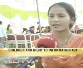 Uttarakhand children use RTI