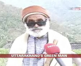 Garhwal's green man