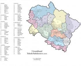 Tehsil Map